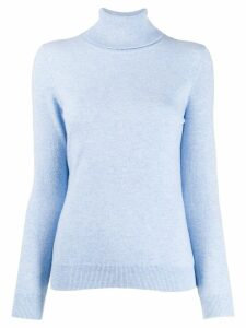 N.Peal polo neck sweater - Blue