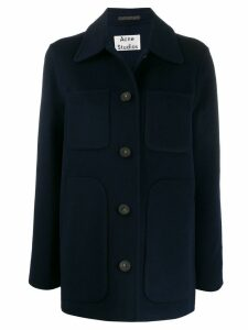 Acne Studios overshirt coat - Blue