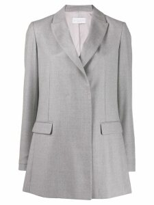 Fabiana Filippi concealed fastening blazer - Grey