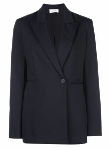 The Row off centre button blazer - Black