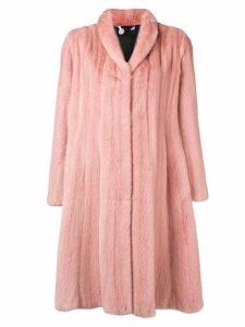 Liska Konstantina fur coat - Pink