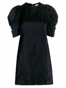 Ulla Johnson Callahan puffed shoulder dress - Blue