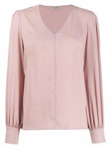 Blanca V-neck blouse - Pink