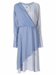 Palmer / Harding Mirror layered dress - Blue