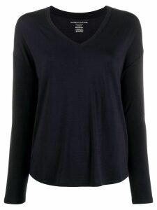 Majestic Filatures jersey knit long-sleeve top - Blue