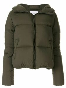 Dondup hooded padded jacket - Green