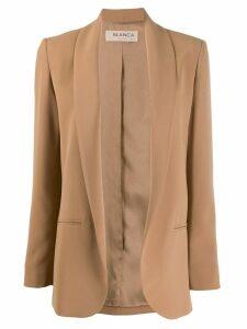 Blanca open front blazer - Neutrals