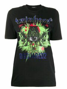 Dsquared2 embellished logo T-shirt - Black