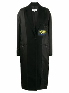 Mm6 Maison Margiela reversed padded coat - Black