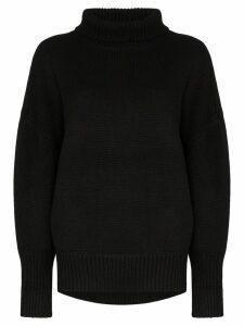 Hyke turtleneck knit jumper - Black