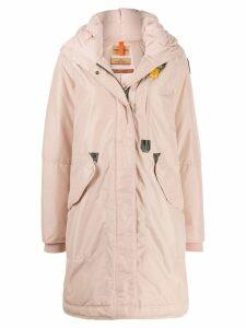 Parajumpers hooded parka coat - Pink