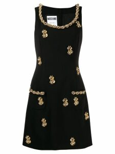 Moschino embellished dress - Black