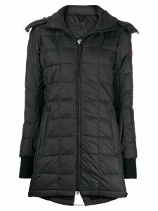 Canada Goose zipped padded coat - Black