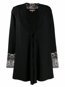 Ermanno Scervino loose-fit knit cardi-coat - Black