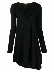 Ermanno Scervino asymmetric flared dress - Black