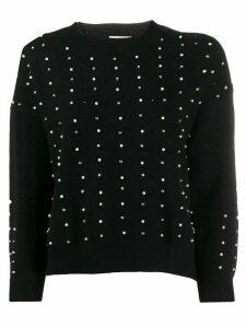 Jovonna Leticia embellished jumper - Black