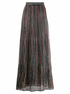 M Missoni lurex knitted skirt - Brown