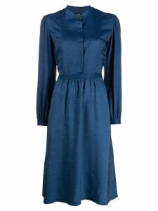 A.P.C. Chambray dress - Blue