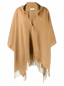Snobby Sheep hooded woven cape - Neutrals
