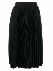 Acne Studios pleated high waisted skirt - Black