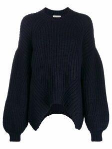 Ulla Johnson oversized draped sweater - Blue