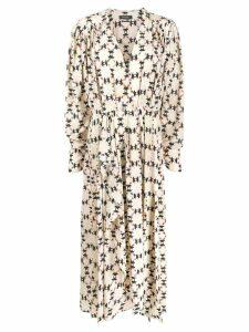 Isabel Marant Blaine dress - Neutrals