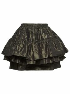 Miu Miu taffeta skirt - Green