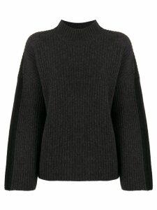 Pringle Of Scotland ribbed knit sweater - Grey