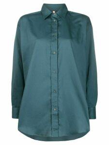 Indress oversized long-sleeved shirt - Blue