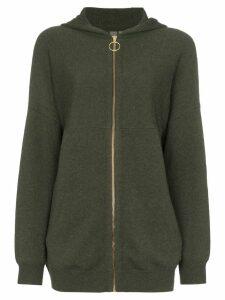 Sweaty Betty Assemble knitted hoodie - Green