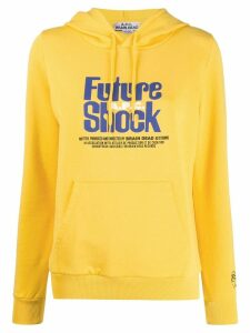 A.P.C. Future Shock print hoodie - Yellow