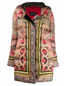 Etro hooded padded jacket - Black
