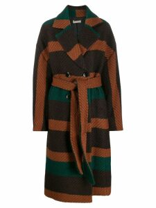 Ulla Johnson belted double-breasted coat - Brown