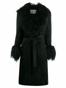 Charlotte Simone Simone Penny coat - Black