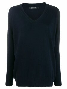 Aragona v-neck sweater - Blue