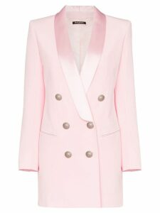 Balmain double-breasted blazer dress - Pink