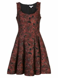 Zac Zac Posen full shape dress - Red