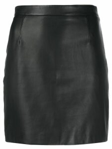 Red Valentino short fitted skirt - Black