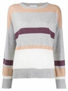 Fabiana Filippi striped jumper - Grey