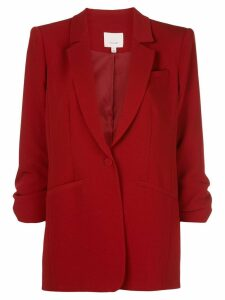 Cinq A Sept 3/4 sleeves Khloe blazer - Red