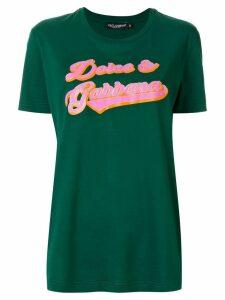 Dolce & Gabbana logo T-shirt - Green