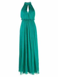 Alberta Ferretti halterneck dress - Green