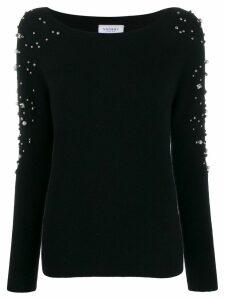 Snobby Sheep embellished knit sweater - Black