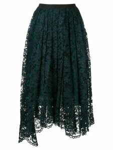 Antonio Marras pleated lace skirt - Blue