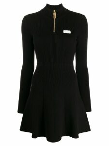 Gcds sporty mini dress - Black