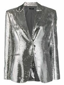 P.A.R.O.S.H. Pilled blazer - Silver