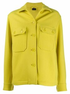 Aspesi fitted wool jacket - Yellow