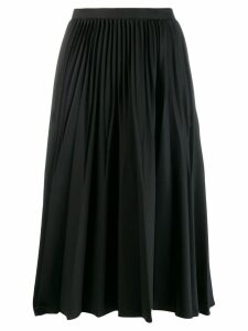 Kenzo pleated midi skirt - Black