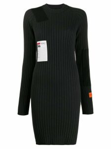 Heron Preston ribbed knitted dress - Black
