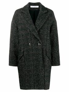 IRO double-breasted coat - Black